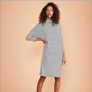 Lou & Grey Striped Turtleneck Signaturesoft Dolman